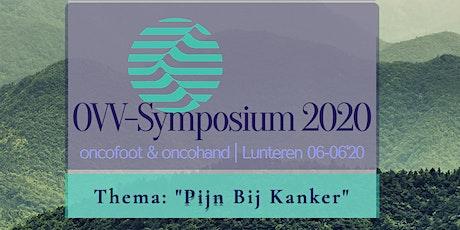 "OVV-Symposium 2020 | ""Pijn bij kanker"" tickets"