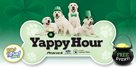 Yappy Hour - St. Patrick's Day Edition tickets
