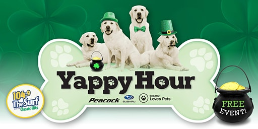 Yappy Hour - St. Patrick's Day Edition