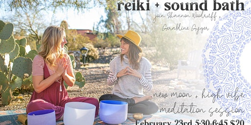High Vibe Sound Bath + Reiki
