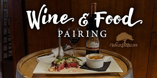 Food and Wine Pairing Event at Legends
