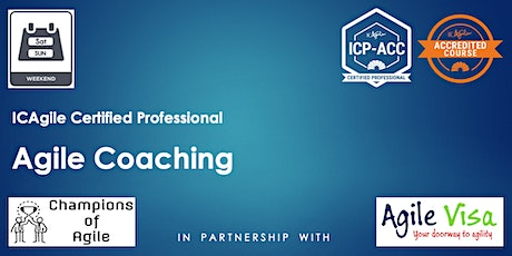 Agile Coaching Masterclass (ICP-ACC) billets