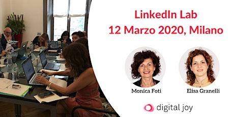 Linkedin Lab Milano 2020 biglietti