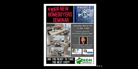 New Home Buying Seminar tickets