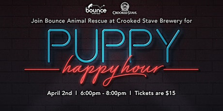 Puppy Happy Hour - Crooked Stave tickets