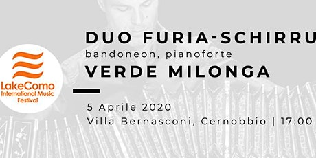 VERDE MILONGA - Fabio Furia (bandoneon) Marco Schirru (pianoforte) biglietti