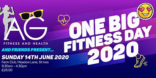 AG FITNESS AND FRIENDS PRESENT - One Big Fitness Day