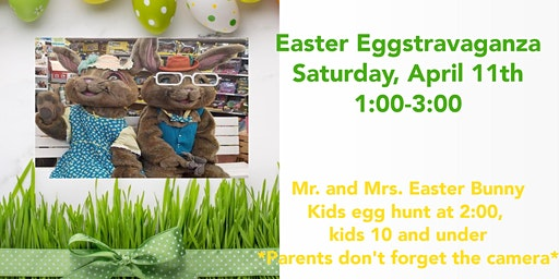 Pets and Friends Easter Eggstravaganza