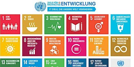 Leben und arbeiten im Jahr 2030 – Sustainable Development Goals im Fokus Tickets
