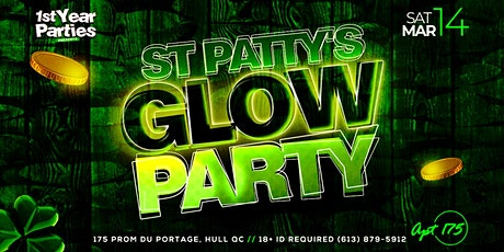 ST. PATTY'S GLOW PARTY @ APT. 175 tickets