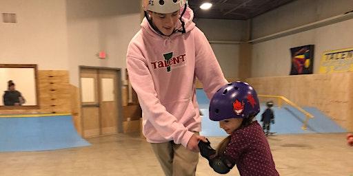 February Break Skateboard Clinic