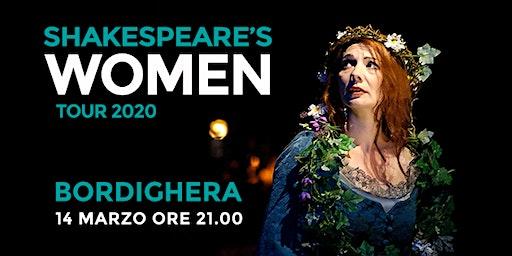 Shakespeare's WOMEN - Centro Culturale Chiesa Anglicana (BORDIGHERA)