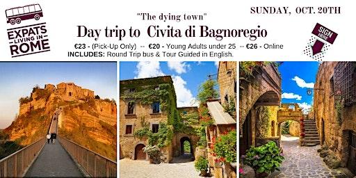 """Day Trip to Civita Di Bagnoregio """"The Dying Town"""""""