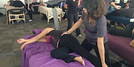 Side-Lying Massage and Stretching tickets