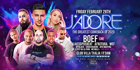 J'Adore Friday tickets