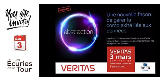TABLE RONDE  VERITAS / BOSTON STORAGE  |  31700 Mondonville