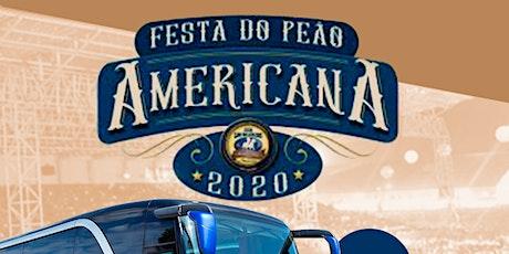 Excursão Rodeio Americana 2020 ingressos