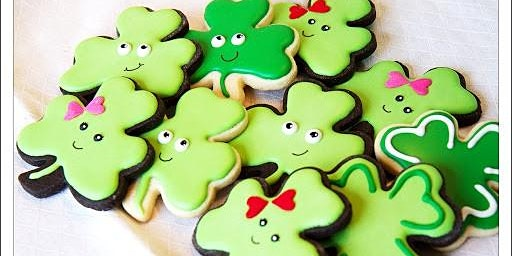 Cookie Decorating Class- St Patty's Day #2