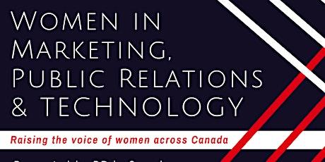 2020 Women In Communications, Marketing Technology Awards Reception tickets