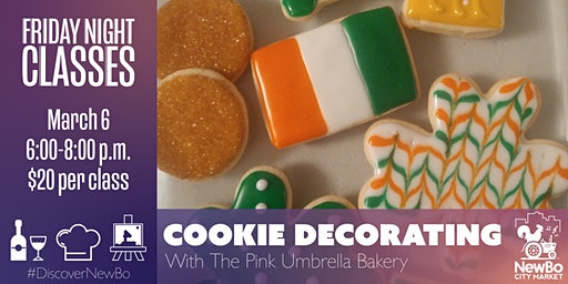 Friday Night Class: Cookie Decorating with The Pink Umbrella Bakery