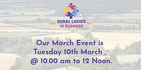 Rural Ladies in Business - March Network Meeting tickets