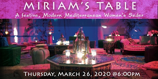 Women's Seder-Miriam's Table, a Musical Seder Journey