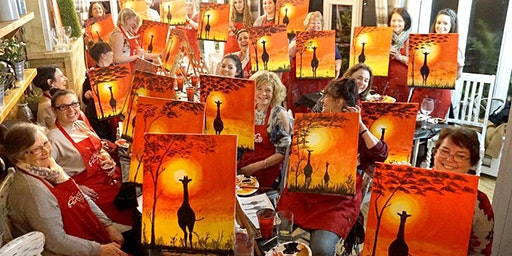 Sunset Heights Brush Party - Gloucester