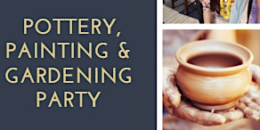 Pottery, Painting & Succulent Planting Party