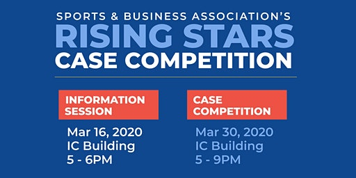 The Rising Stars Competition + Networking