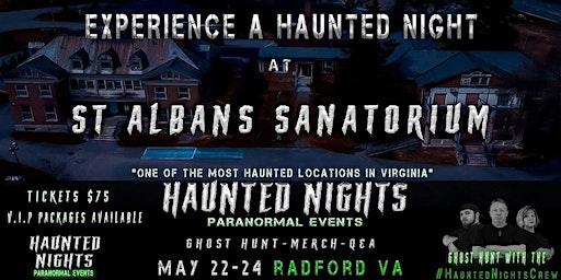 Haunted Nights at St Albans Sanatorium