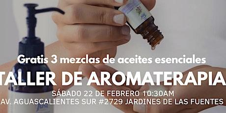 SHOWROOM DE AROMATERAPIA  boletos