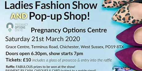 Fashion Show Fundraiser for Pregnancy Options Centre tickets