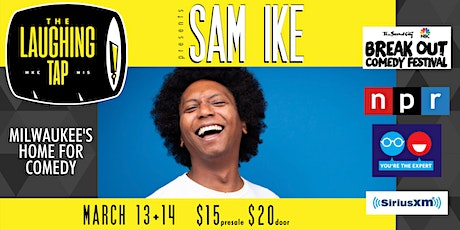 Sam Ike at The Laughing Tap tickets