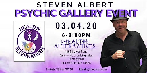 Steven Albert: Psychic Gallery Event - Healthy Alt 3/4