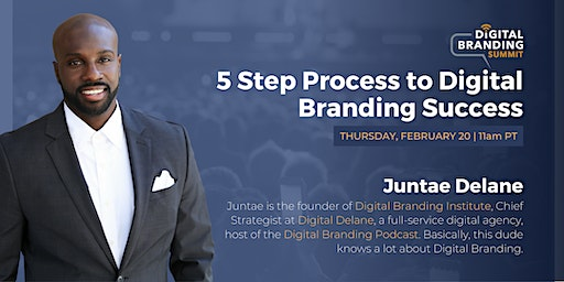 5 Step Process to Digital Branding Success - Tampa