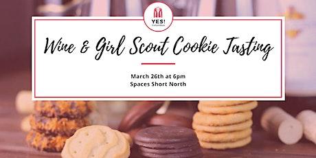 Wine & Girl Scout Cookie Tasting - YES Member Meetup tickets