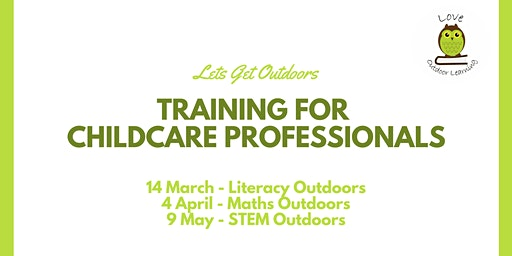 Outdoor Maths for Teachers and Childcare Professionals