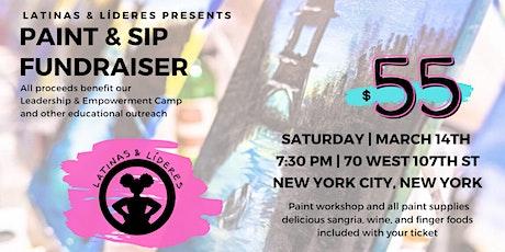 Latinas & Líderes Paint & Sip Fundraiser tickets