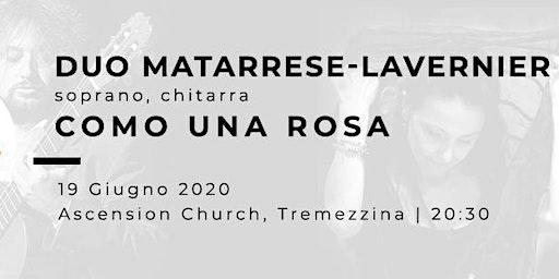 COMO UNA ROSA - Paola Matarrese (soprano), Christian Lavernier (chitarra)