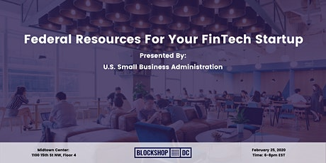 Federal Resources To Help Your FinTech Business Grow tickets