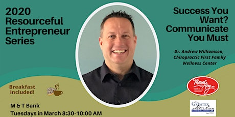 Success You Want? Communicate You Must tickets