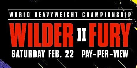 Wilder vs. Fury 2 tickets