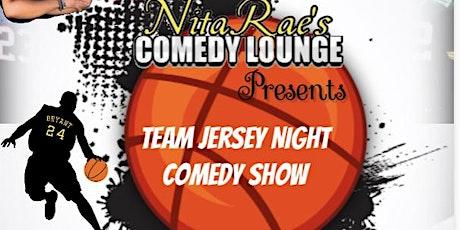 NitaRae Entertainment Presents Team Jersey Night Comedy Show tickets