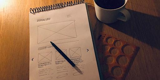 Designa med pappersskisser