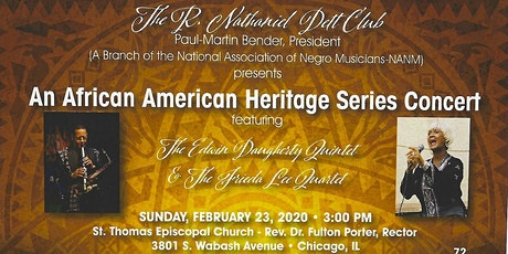 The R.Nathanial Dett Club  - An African American Heritage Series Concert tickets