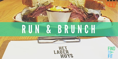 Run & Brunch at Het Lagerhuys tickets