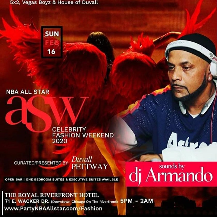 NBA ALL STAR 39 FL. HOTEL PENTHOUSE FASHION SHOW/PARTY image
