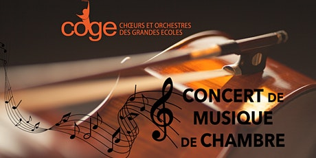 Concert de musique de chambre du COGE billets
