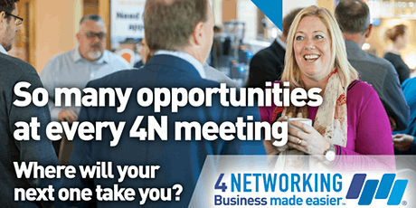 4Networking Medway Breakfast Business Networking tickets