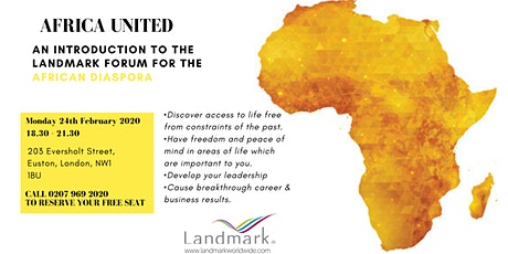 Africa United: An Introduction to the Landmark Forum for the African Diaspora tickets